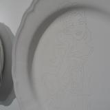Porcelain plates - Alfredo Eandrade