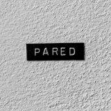 Rótulo plástico 1x4cm - Alfredo Eandrade