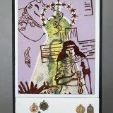 Glazed ceramic – Religious medals 50x150x40cm - Alfredo Eandrade